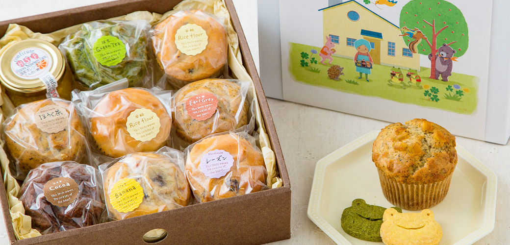 焼菓子のボックス