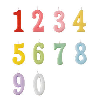 numbercandle